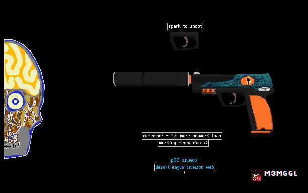 the powder toy usp s caiman by m3mggl